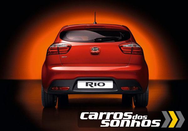 Kia Rio 2 portas 2012