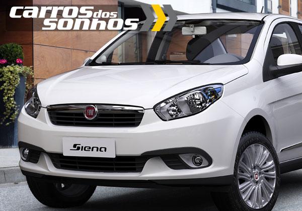 Novo Fiat Grand Siena 2012
