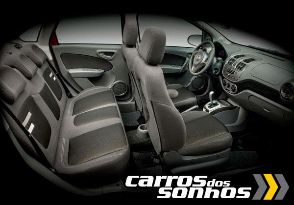 Fiat Grand Siena 2012 Interior