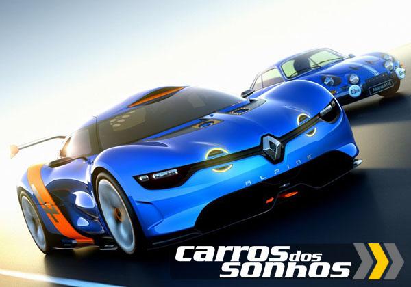 Renault Alpine A 110-50 Concept 2012