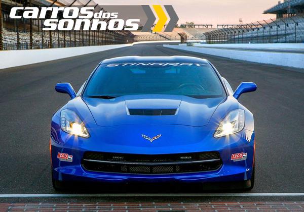 Chevrolet Corvette Stingray Indy 500 Pace Car 2014