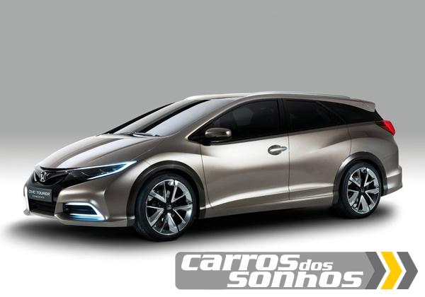 Honda Civic Tourer Concept 2013
