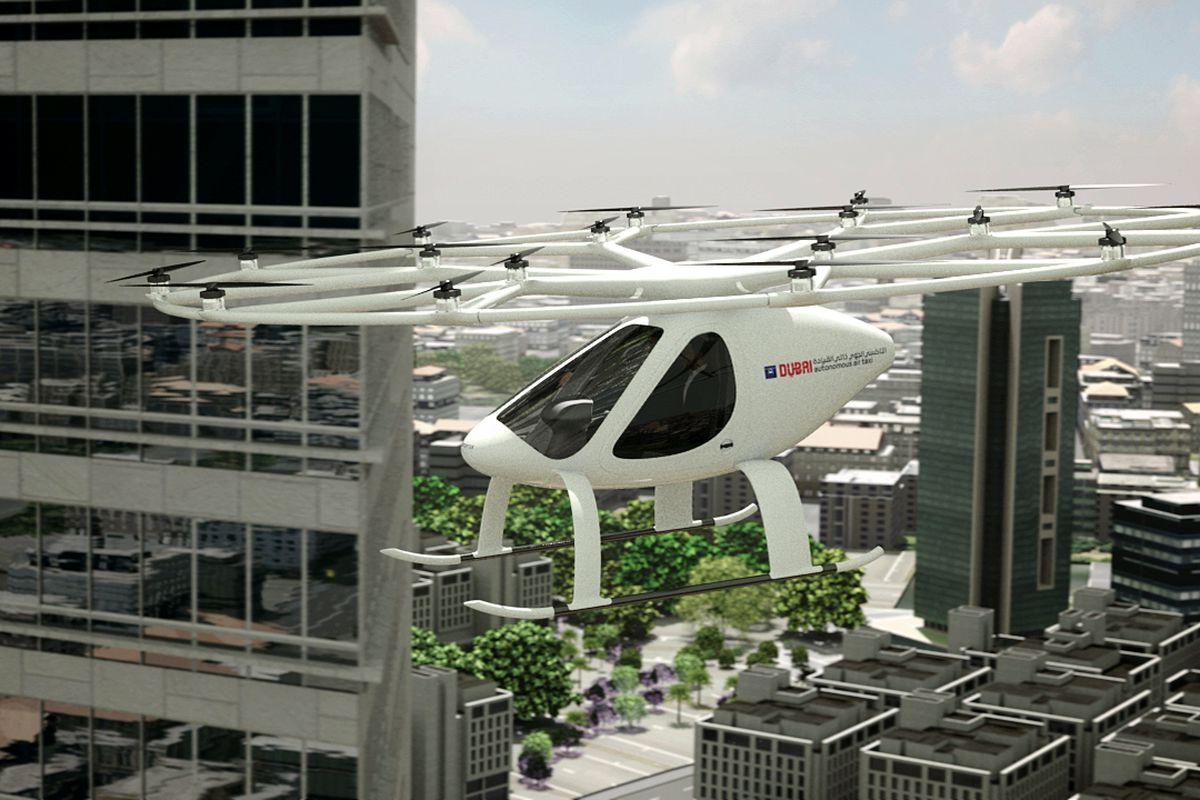 Nos ares: Dubai inicia testes com Volocopter